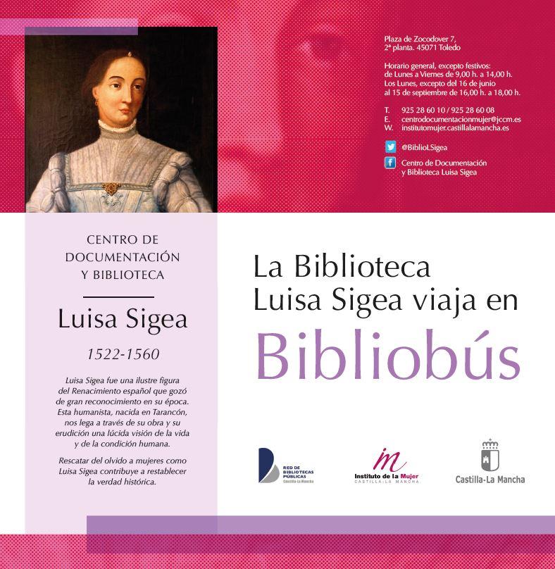 La Biblioteca Luisa Sigea viaja en Bibliobús