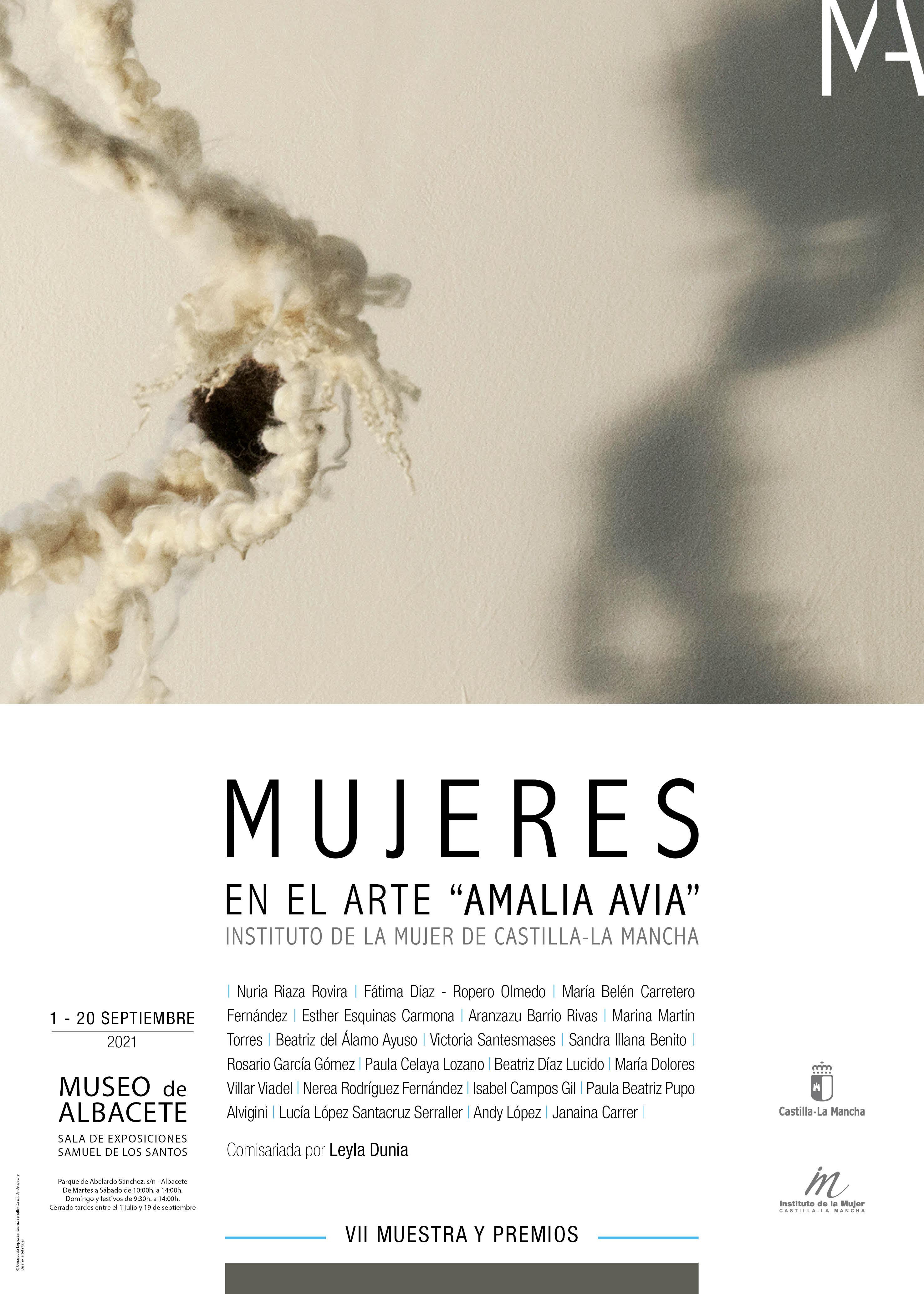 """VII MUESTRA MUJERES EN EL ARTE """"AMALIA AVIA"""""""