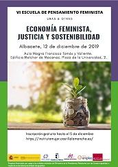 VI ESCUELA DE PENSAMIENTO FEMINISTA. ECONOMÍA FEMINISTA, JUSTICIA Y SOSTENIBILIDAD