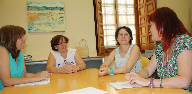 Araceli Martínez visita Ciudad Real