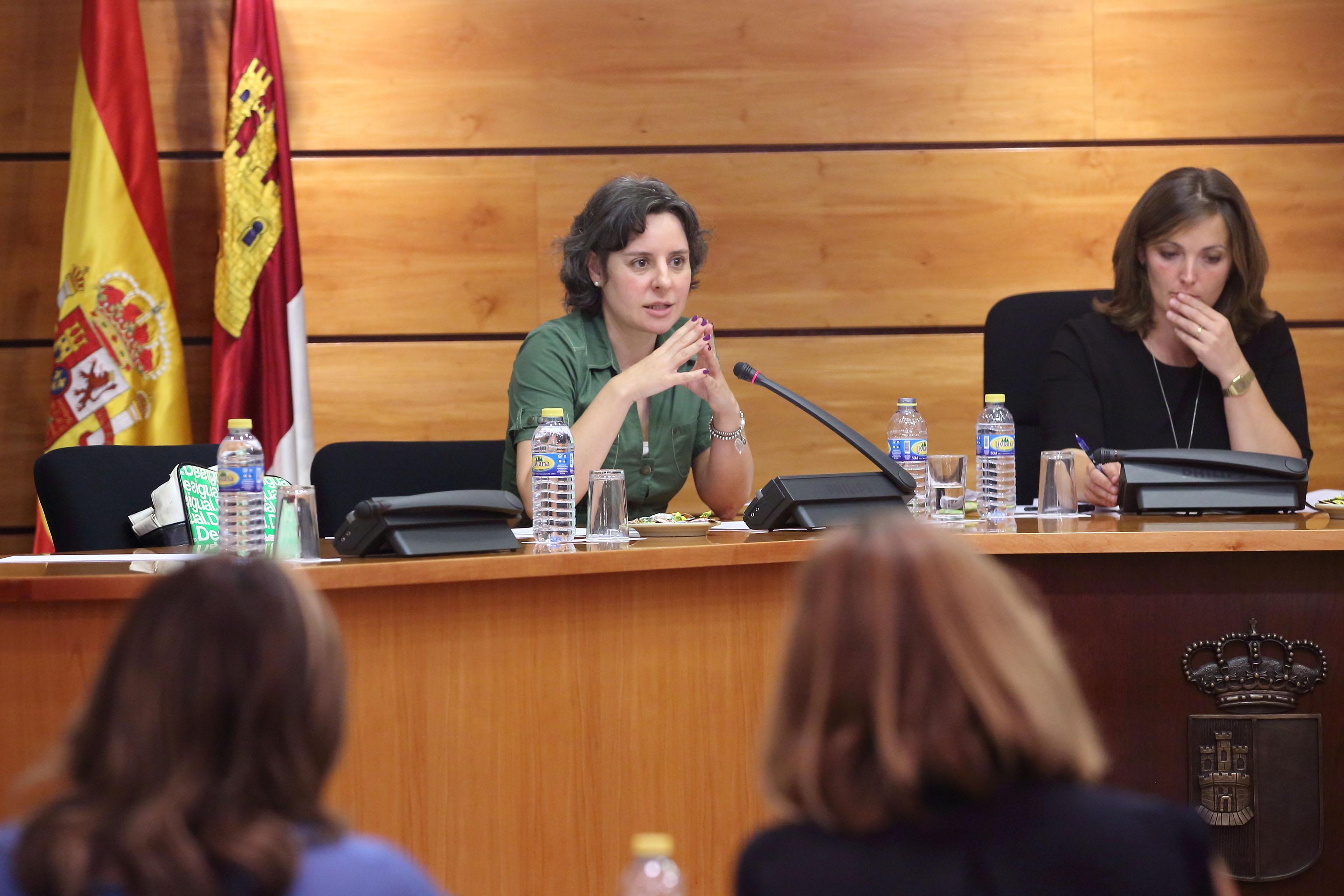 Comisión de la Mujer en las Cortes de Castilla-La Mancha