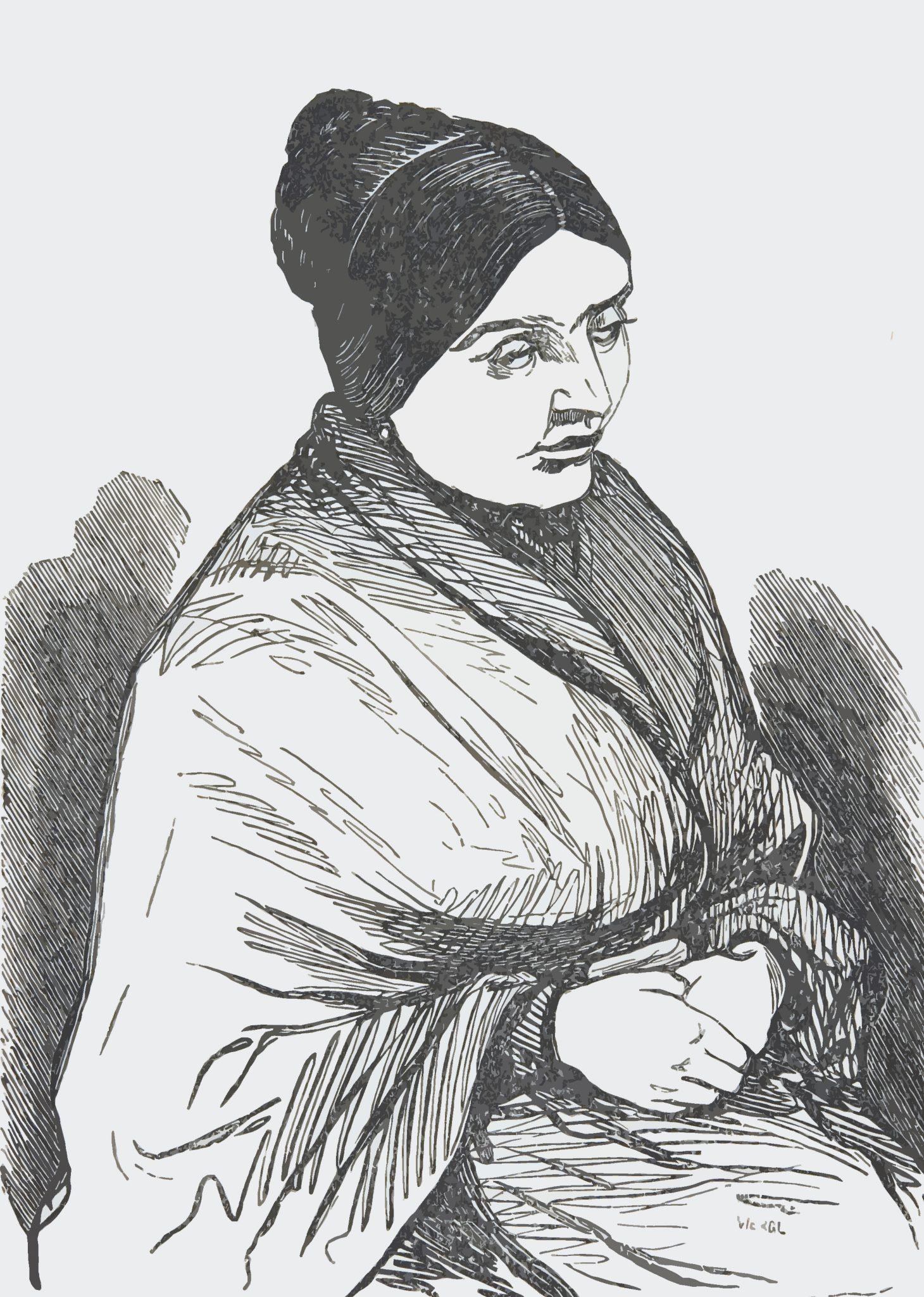 """Hoy navegamos por la Enciclopedia de Mujeres Oliva Sabuco y conocemos a María Francisca Díaz-Carralero Rodelgo, conocida como """"La ciega de Manzanares"""""""