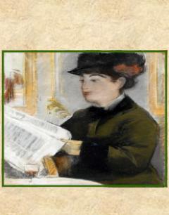 """Imagen de la Exposición """"Mujeres Leyendo"""""""