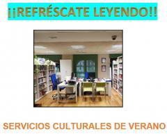 SERVICIOS CULTURALES PARA VERANO-2020