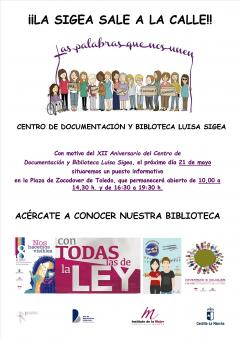 "XII Aniversario Centro de Documentación ""Luisa Sigea"""