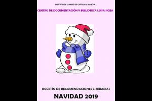 Boletín de recomendaciones literarias infantil/juvenil. Navidad de 2019