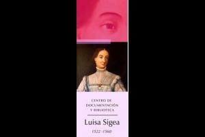 """El Centro de Documentación y Biblioteca """"Luisa Sigea"""""""