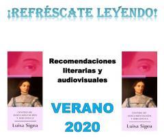 Recomendaciones literarias (Infantil /Juvenil) verano 2020