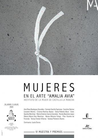"""VI MUESTRA MUJERES EN EL ARTE """"AMALIA AVIA"""""""