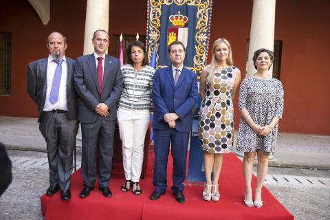 Toma de posesión de la directora del Instituto de la Mujer y el delegado de la Junta en Guadalajara