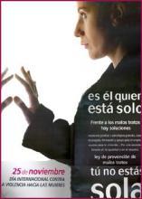 Día Internacional contra la violencia hacia las mujeres 2004