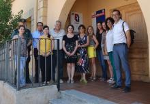 La directora del Instituto de la Mujer se reúne con el alcalde y colectivos implicados en la prevención y actuación contra la violencia de género en Cifuentes