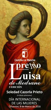 I Premio Internacional Luisa de Medrano